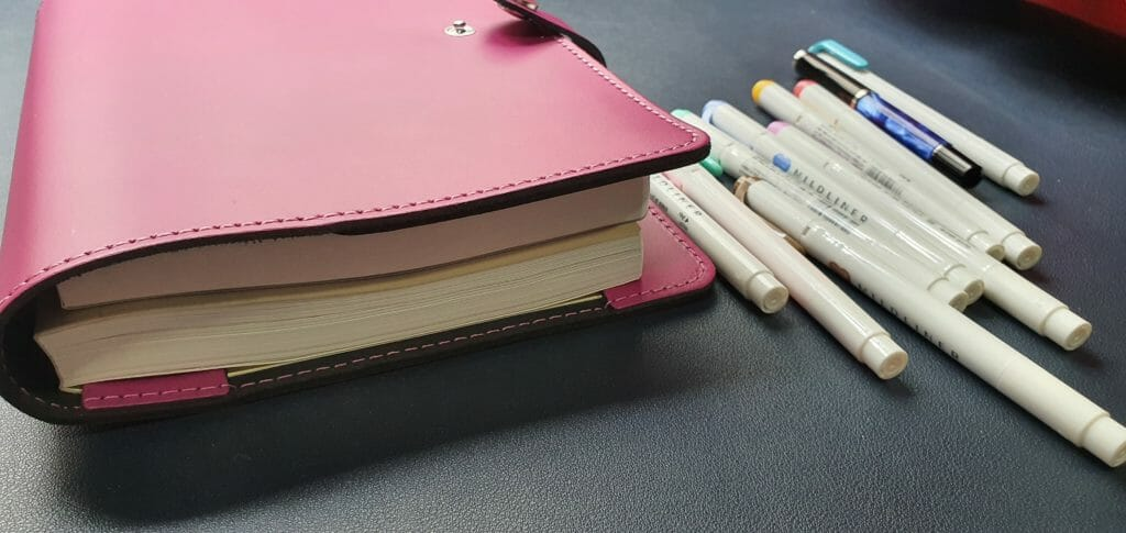 How to use Hobonichi Techo Cousin to plan your day