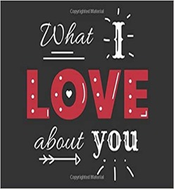 what i love about you book for valentine's day gift present for husband