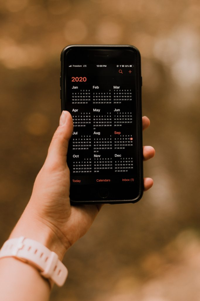set appointment on digital calendar to complement your paper planner