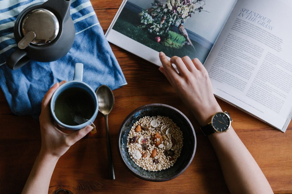 have a morning routine as your daily routine